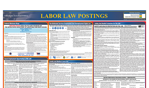 Labor Law Posters Updates And Proper Placement Are You