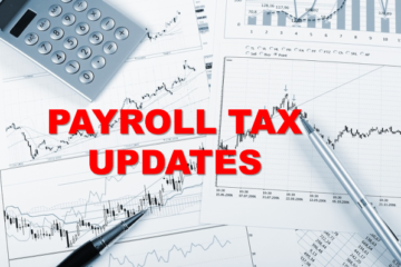 Payroll Tax Updates