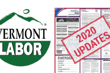 Vermont Labor Law Poster 2020 Updates