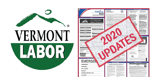 Vermont Labor Law Poster 2020 Updates