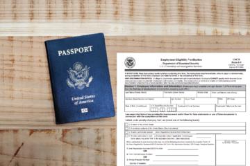 Passport and I-9 Form